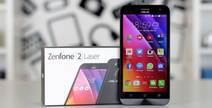 ASUS ZenFone 2 Laser ZE500KL video inceleme