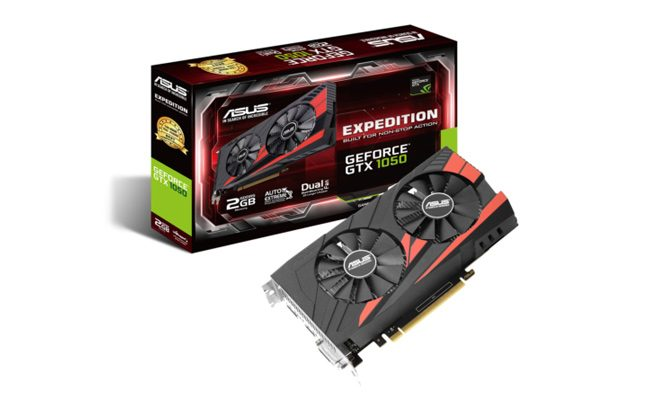 Asus GTX 1050 2GB GDDR5 128Bit Expedition O.C