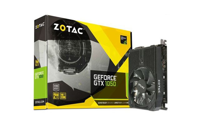Zotac GTX1050 2GB 128Bit GDDR5 Mini