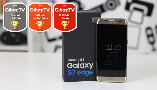 Samsung Galaxy S7 edge inceleme (Video)