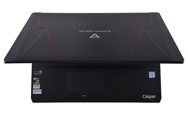Casper Excalibur G500 dizüstü oyun bilgisayarı, parmak izi okuyucuyla donatılıyor - CihazTV