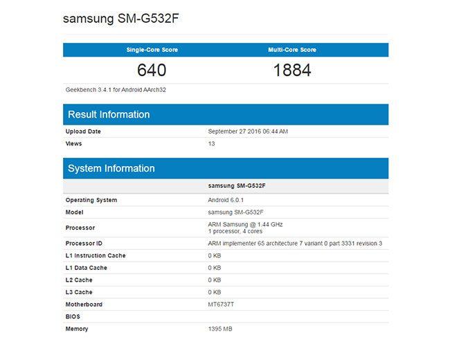 Samsung Galaxy Grand Prime (2016) teknik özellikleri - CihazTV