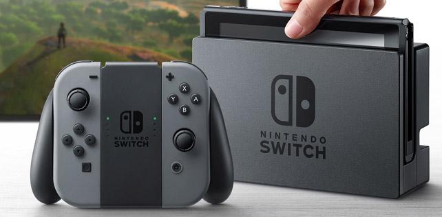 Nintendo Switch tanıtıldı, işte detayları