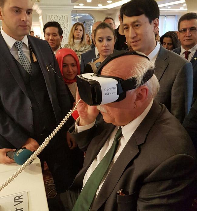 Samsung Dijital Kütüphane açılışı - Nabi Avcı