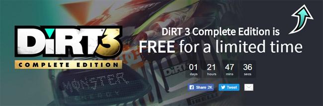 49 TL'lik DiRT 3 Complete Edition bedava oldu!