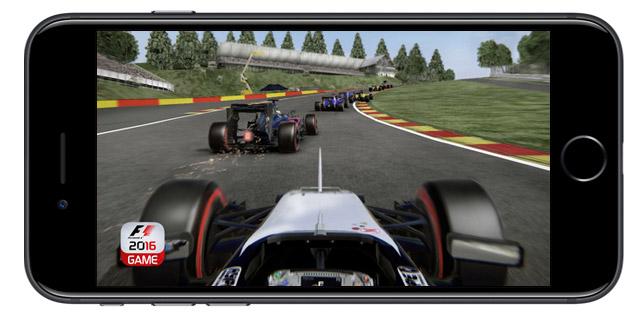iOS cihazlar için F1 2016 piyasaya çıktı