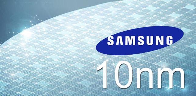 Samsung dünyanın ilk 10 nanometre mobil işlemcisini üretti