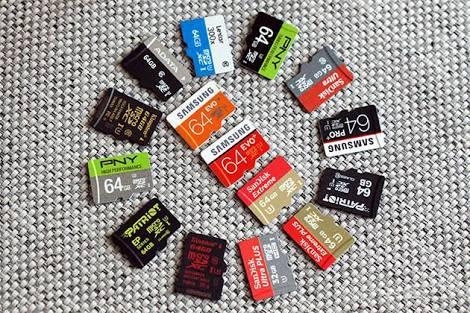 MicroSD A1 kartlar