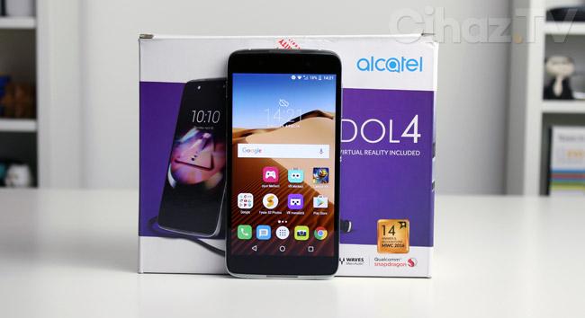 Alcatel Idol 4 inceleme (Tasarım ve Ekran Özellikleri)