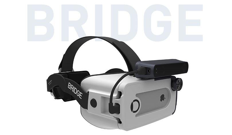 iPhone için çılgın bir sanal gerçeklik gözlüğü: Bridge