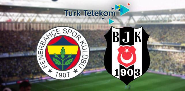 Fenerbahçe - Beşiktaş derbisinde Türk Telekom Wi-Fi bedava