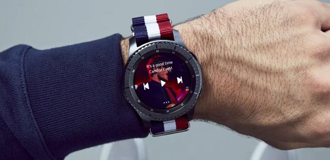 Gear S3 reklam