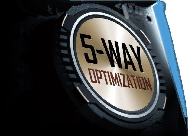ASUS 5 Yönlü Optimizasyon