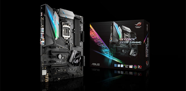 ASUS STRIX Z270F Gaming anakart kutu açılışı (Video)