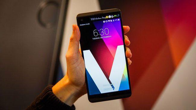 LG V20 kutu açılışı
