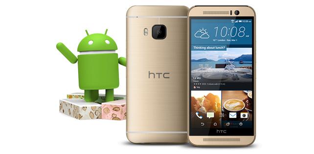 HTC One M9 için Android 7.0 Nougat güncellemesi geldi