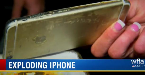 iPhone 6 Plus patladı