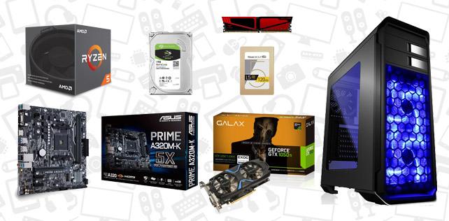 3500 TL PC toplama tavsiyesi (AMD Ryzen 5 1400 - GTX 1050 Ti 4GB)