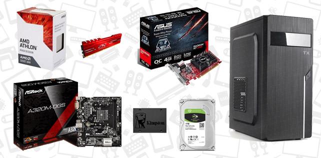 2500 TL PC toplama tavsiyesi (AMD 7th Gen Athlon X4 950)