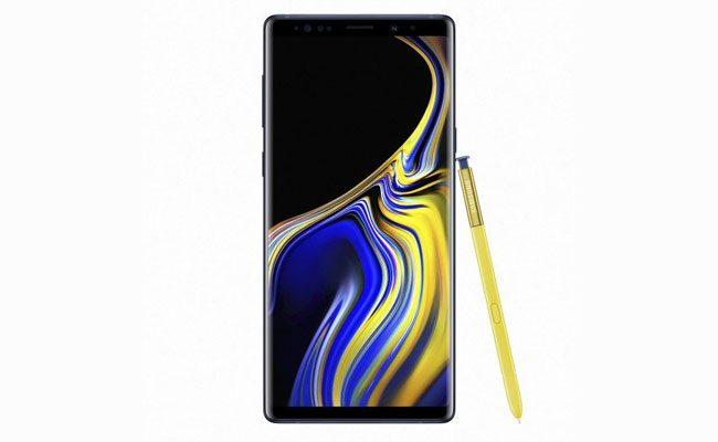 9. Galaxy Note 9 (2018)