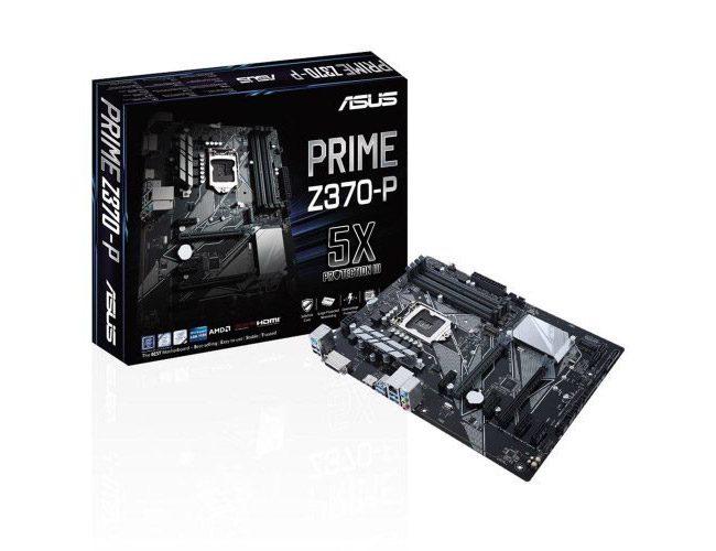 Anakart: Asus PRIME Z370-P II Intel Z370 4000Mhz O.C DDR4 ATX