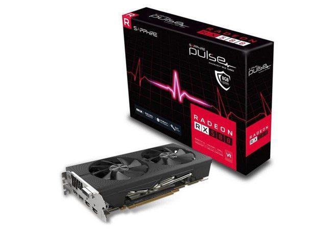 Sapphire RX580 8GB PULSE 256Bit GDDR5