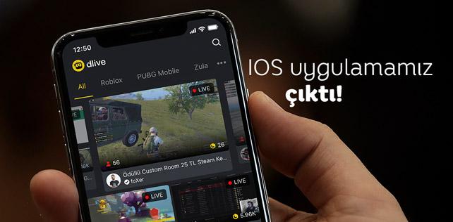 DLive canlı yayın yapma uygulaması App Store'a geldi