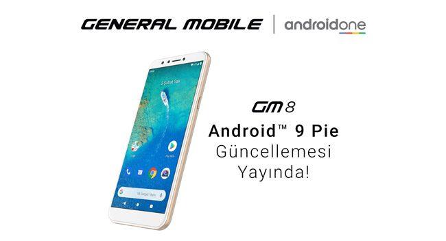 GM 8'e Android 9 Pie Güncellemesi