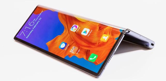 Huawei Mate X katlanabilir akıllı telefon tanıtıldı