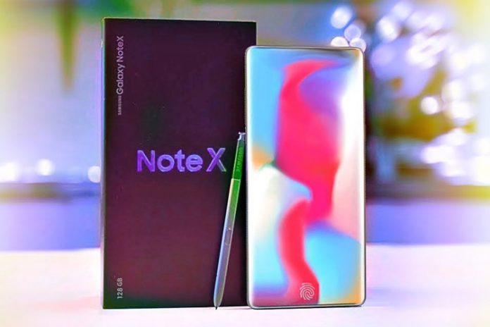 Samsung Galaxy Note 10 fiziksel tuşları ortadan kaldırabilir