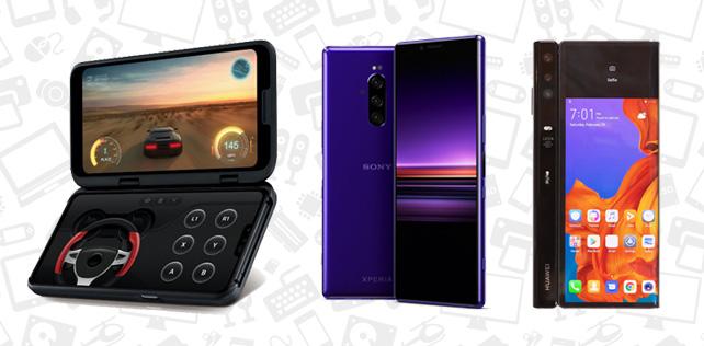 MWC 2019 telefonları