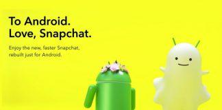 Snapchat tamamen yenilenen Android sürümünü kullanıma sundu