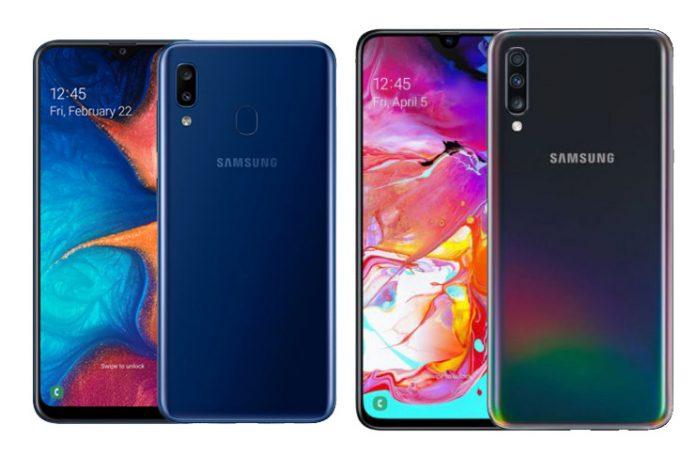 Galaxy A20 ve Galaxy A70 Türkiye Fiyatları Belli Oldu