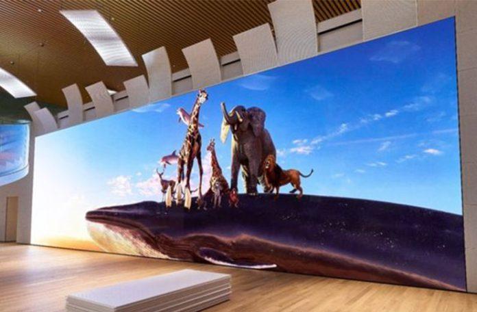 Sony 16K çözünürlüklü 783 inç ekran geliştirdi