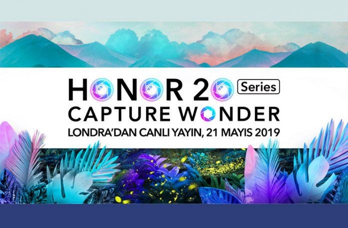Honor 20 Serisi Lansmanını Canlı Yayında İzleyebilirsiniz