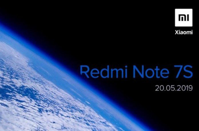 Xiaomi Redmi Note 7S Pazartesi Günü Tanıtılacak