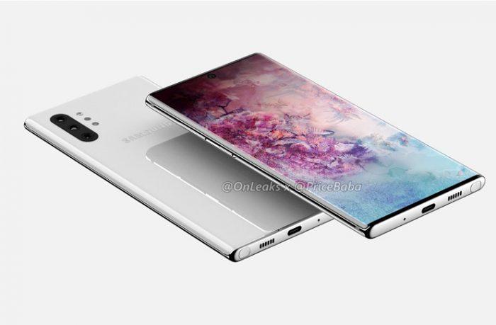 Galaxy Note 10 Üç Farklı F Değerine Sahip Kamerayla Gelecek