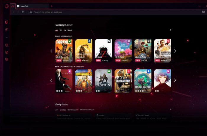 Opera GX Oyuncular İçin Tasarlanan İlk İnternet Tarayıcısı Oldu