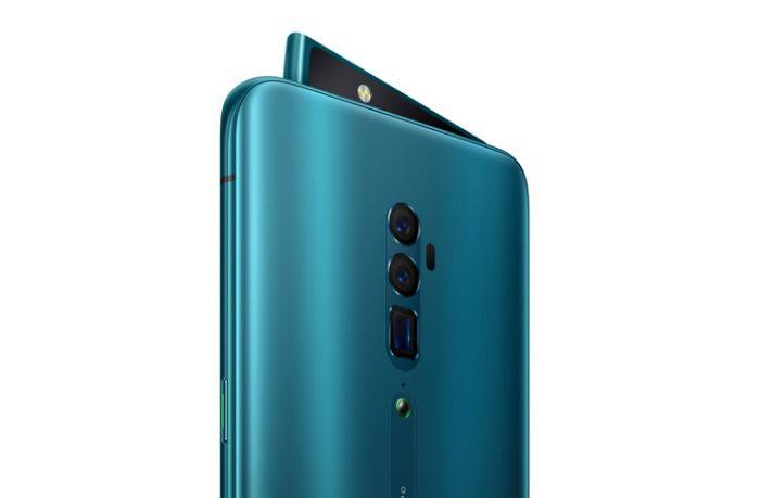En İyi Kameraya Sahip Akıllı Telefonlar Oppo Reno 10x Zoom (Fotoğraf 125, Video 100, Genel 116 puan)
