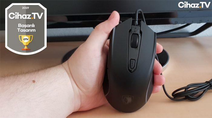 Tasarımı şahane bir oyuncu mouse'u incelemesi - Sades Scythe (Video)