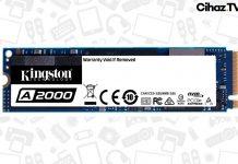 Kingston A2000 Ultra Yüksek Performanslı PCIe NVMe SSD Tanıtıldı