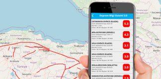 En Son Depremler Mobil Uygulaması Çıktı