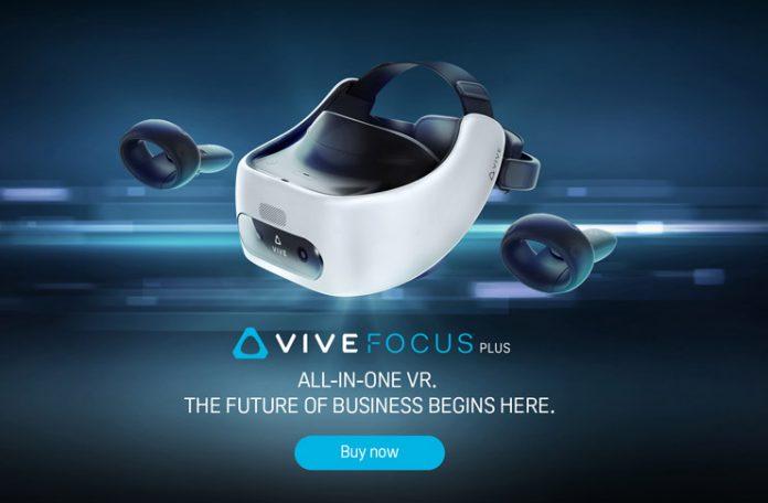 HTC VIVE'dan Ticari Kullanıma Özel Bağımsız VR Başlığı: VIVE Focus Plus
