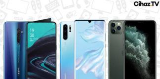5000 TL Üstü En İyi Akıllı Telefon Modelleri - Ocak 2020