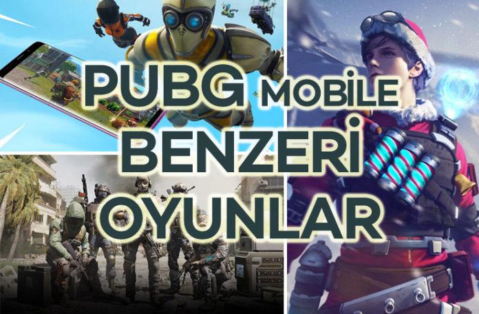 PUBG Mobile Benzeri Alternatif Mobil Oyunlar