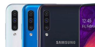 Galaxy A50 Yeni Güncelleme ile Kamera Kalitesini Artırdı