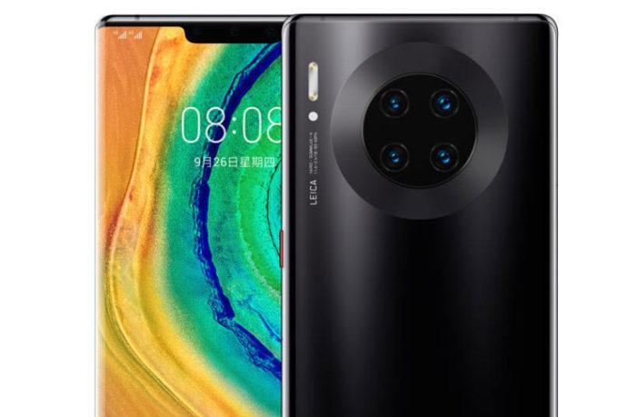 7. Huawei Mate 30 Pro (Fotoğraf 132, Video 100, Genel 121 puan)