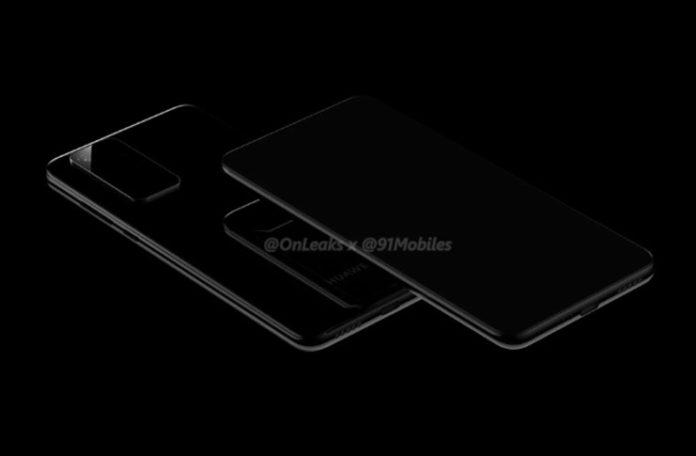 Huawei P40 ve P40 Pro Tasarım Fotoğrafları Sızdırıldı