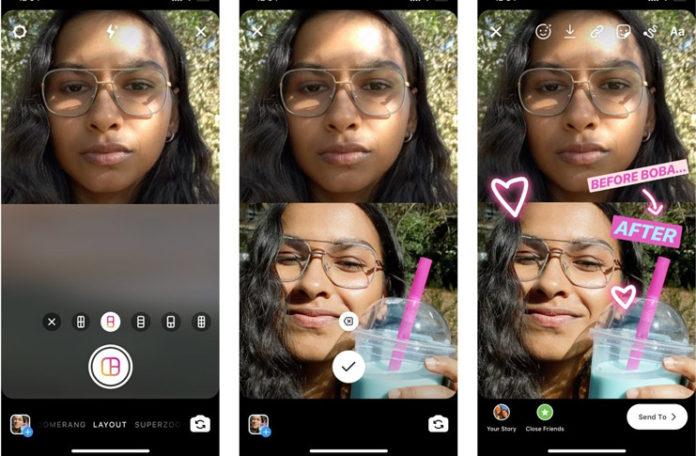 Instagram Layout ile Hikayeler Artık Kolaj Olarak Paylaşılabilecek