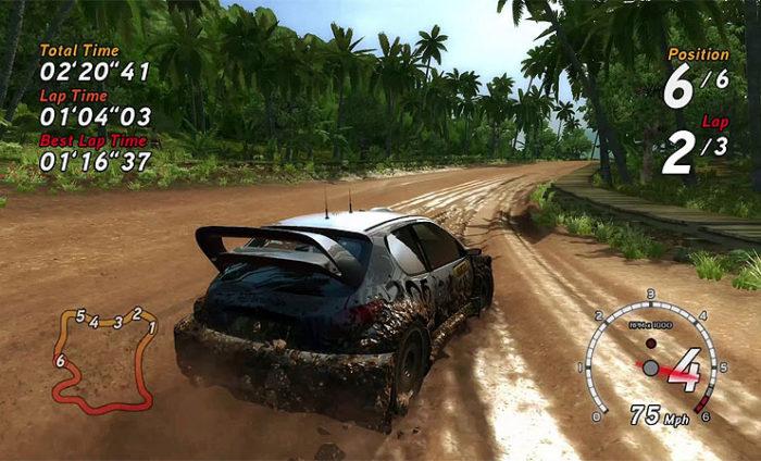 Düşük Sistem Gereksinimi İsteyen En İyi Yarış Oyunları SEGA Rally Revo (2007) Minimum Sistem Gereksinimleri